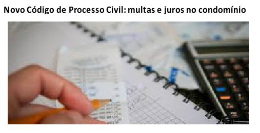 O código de processo civil e os condomínios