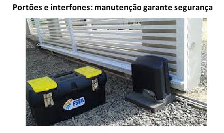 Portões e interfones: manutenção garante segurança