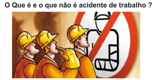 O que é e o que não é acidente de trabalho?