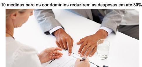 Todo condomínio consegue reduzir despesas se tiver uma gestão eficiente