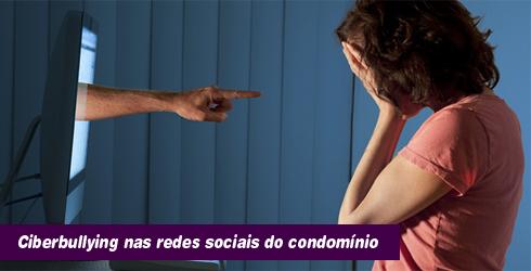 Ciberbullying nas redes sociais do condomínio