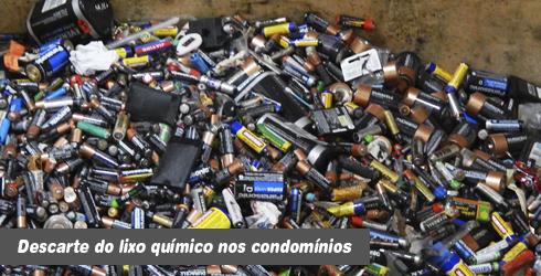 O Descarte responsável do lixo químico