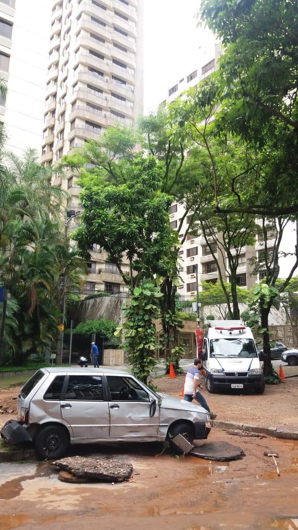 Condomínios sofrem com as chuvas