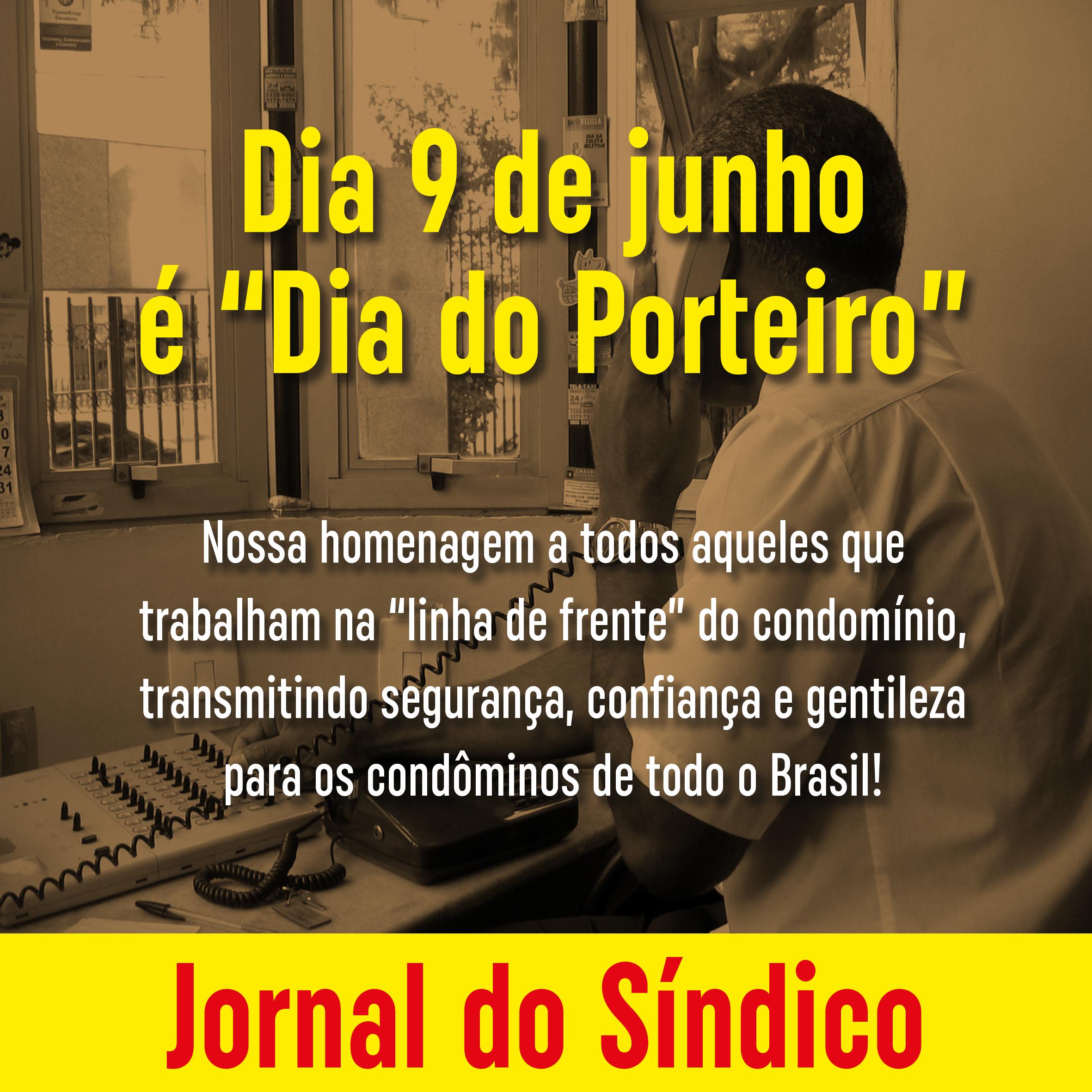 9 de junho: Dia do Porteiro – cuidados para a proteção dos seus funcionários