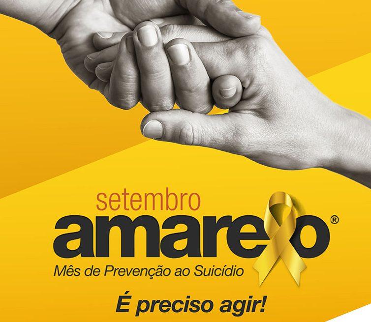 """""""Setembro amarelo"""": participe desta campanha pela vida"""