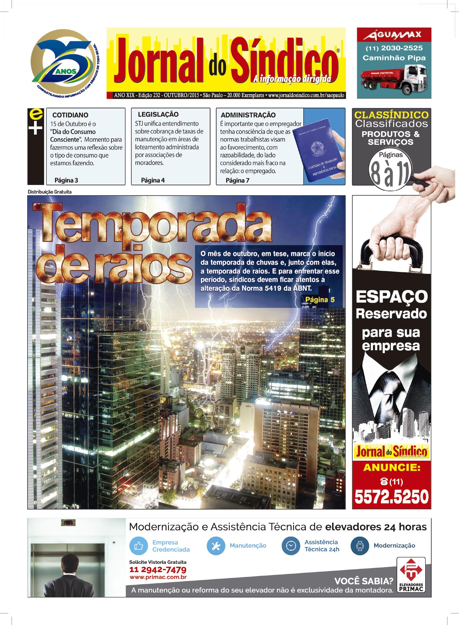 Jornal do Sindico Edic 232.indd