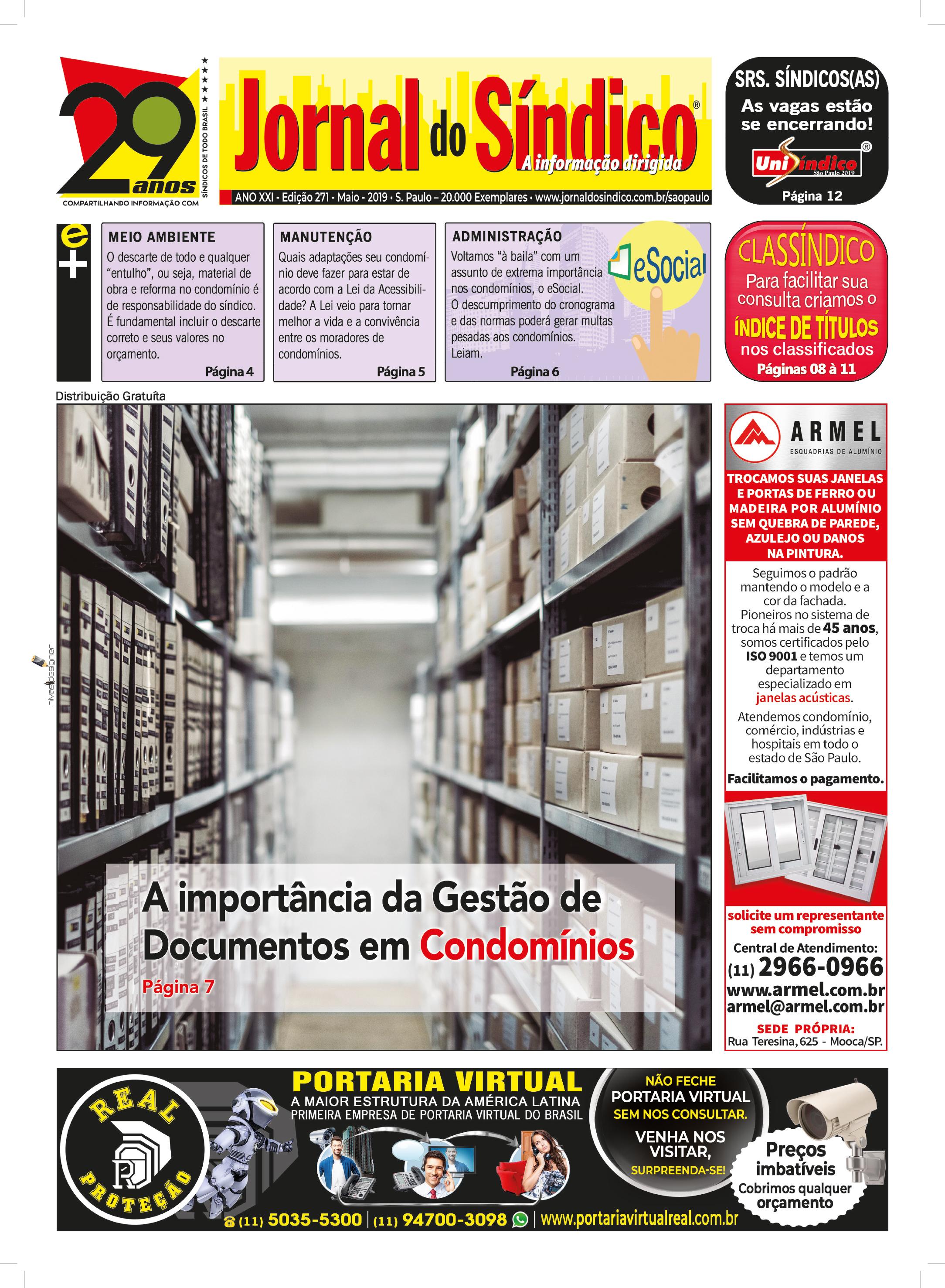 Jornal-Ediç 271 - Maio 2019.indd