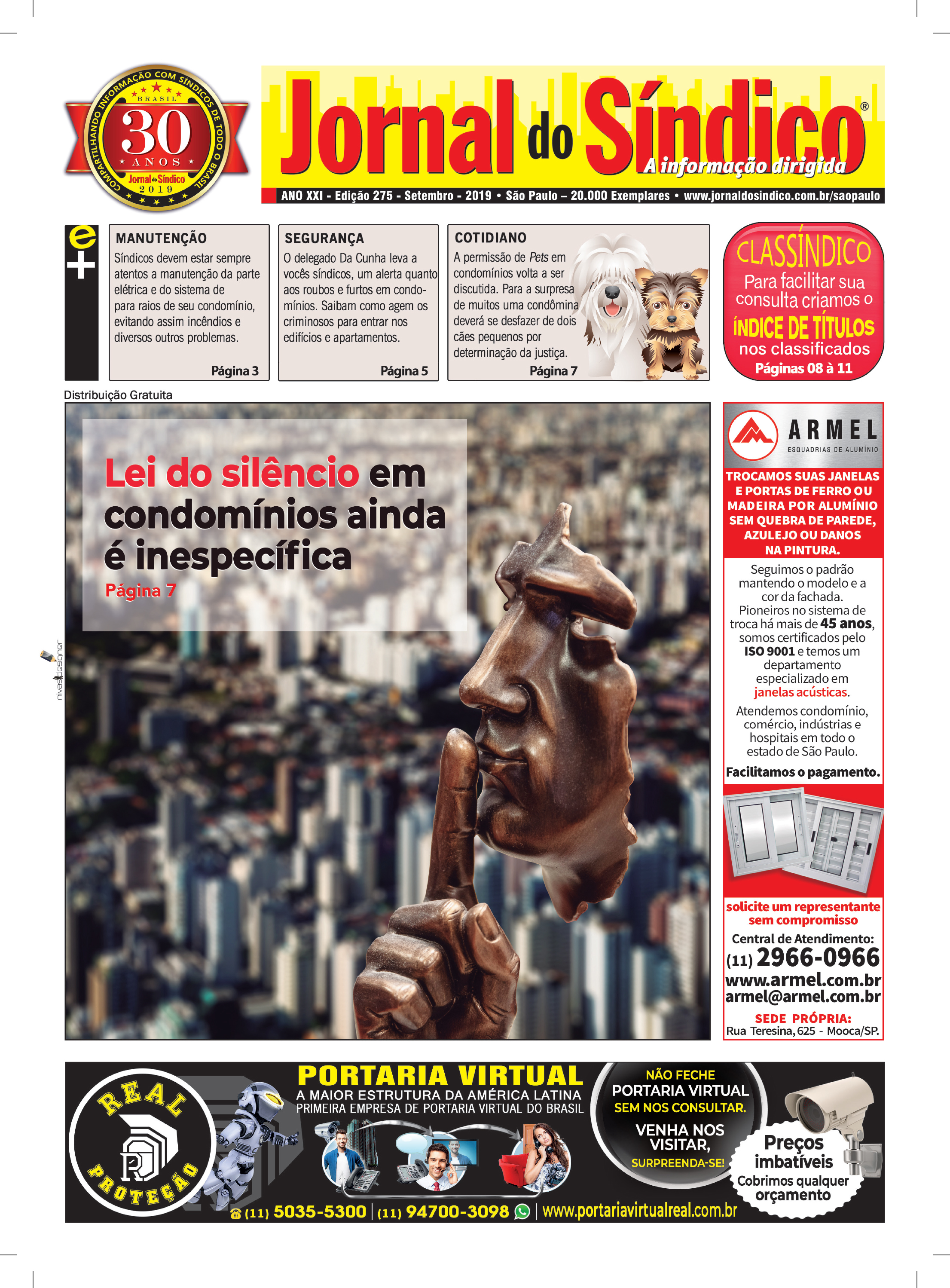 Jornal-Ediç 275 Setembro 2019 - Bckp.indd