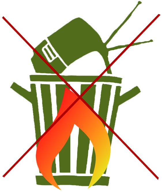 Queimar lixo é crime e condomínio pode ser responsabilizado