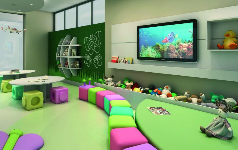 Brinquedoteca incrementa áreas de lazer em condomínios residenciais