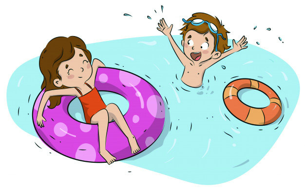 Lazer de crianças na piscina deve ser monitorado