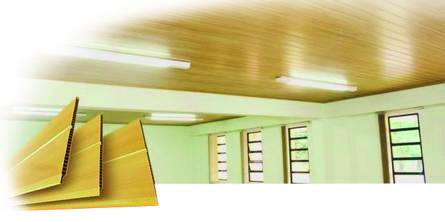 Conheça as qualidades dos forros em PVC