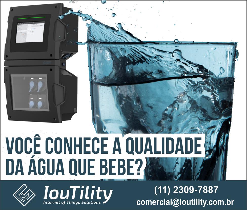 Você conhece a qualidade da água que bebe?