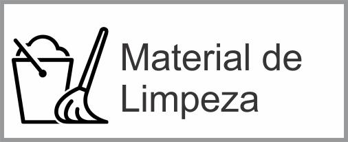 icone material de limpeza