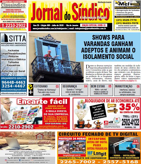 JSRJ 309 - Julho 2019