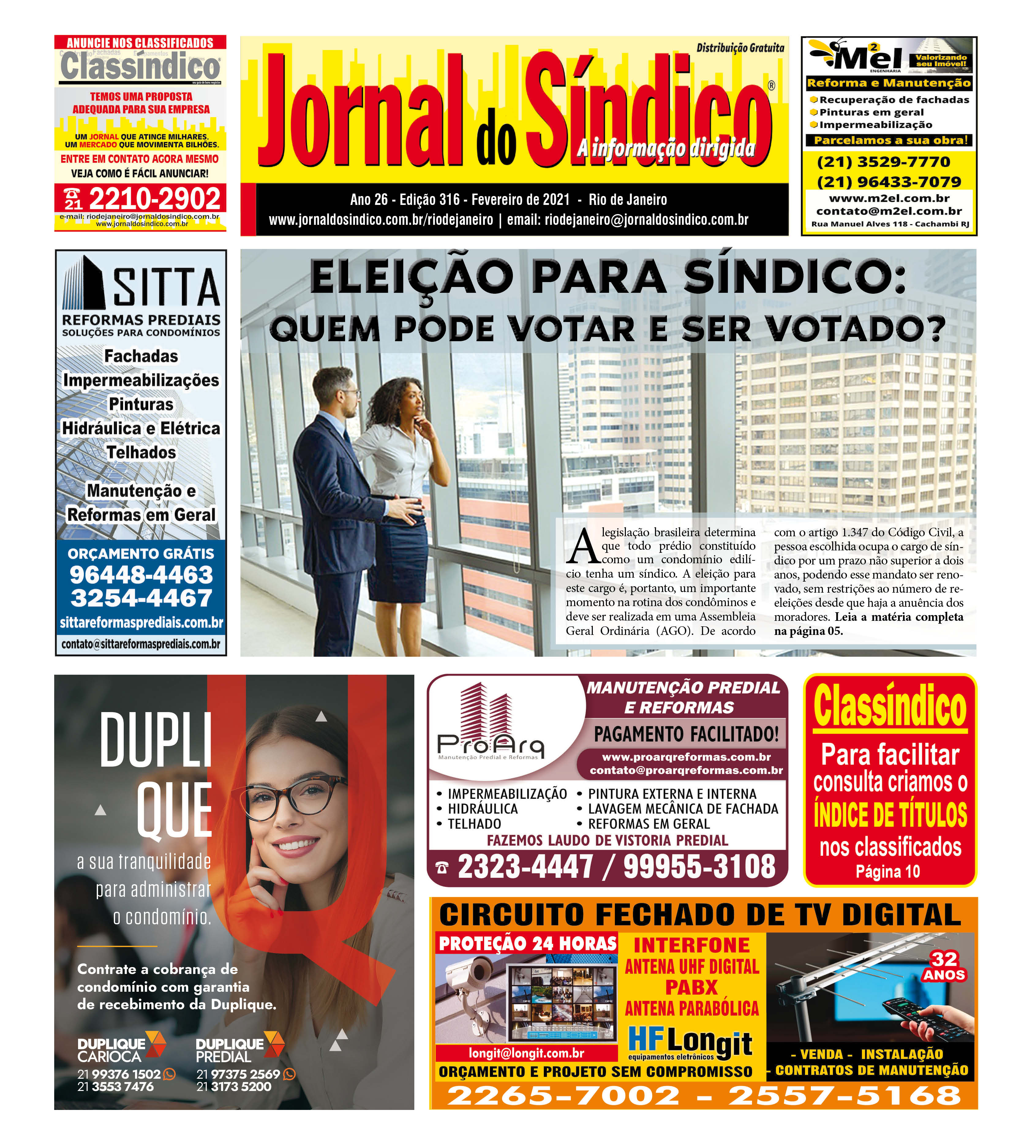 JSRJ 316 - FEVEREIRO 2021 - 12 paginas web