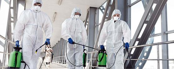 Sanitização profissional: condomínios seguros por mais tempo