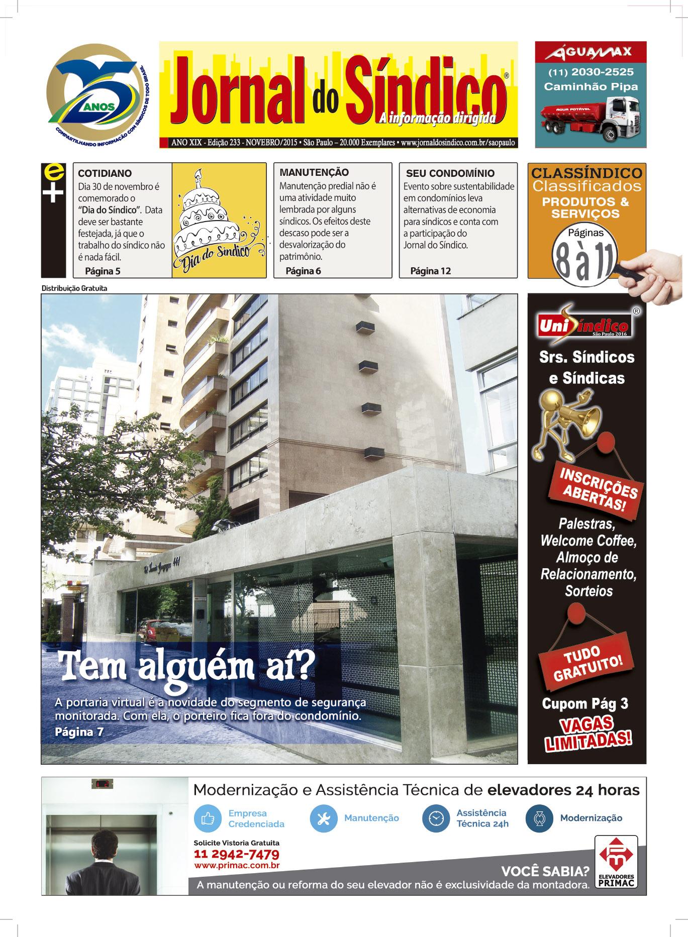 Jornal do Sindico BCKP - Edic 233.indd