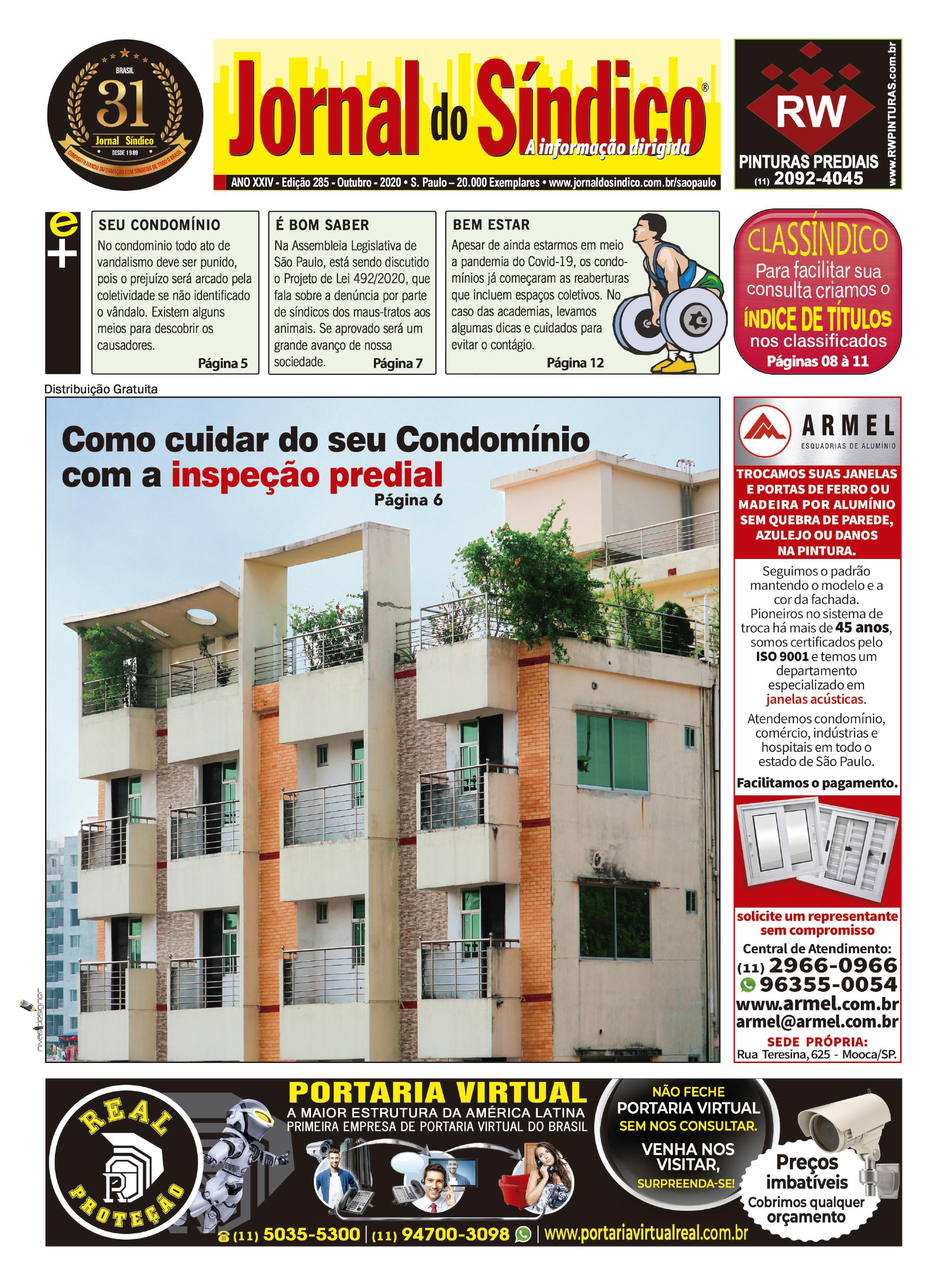 Jornal-Ediç 285 - Outubro 2020.indd