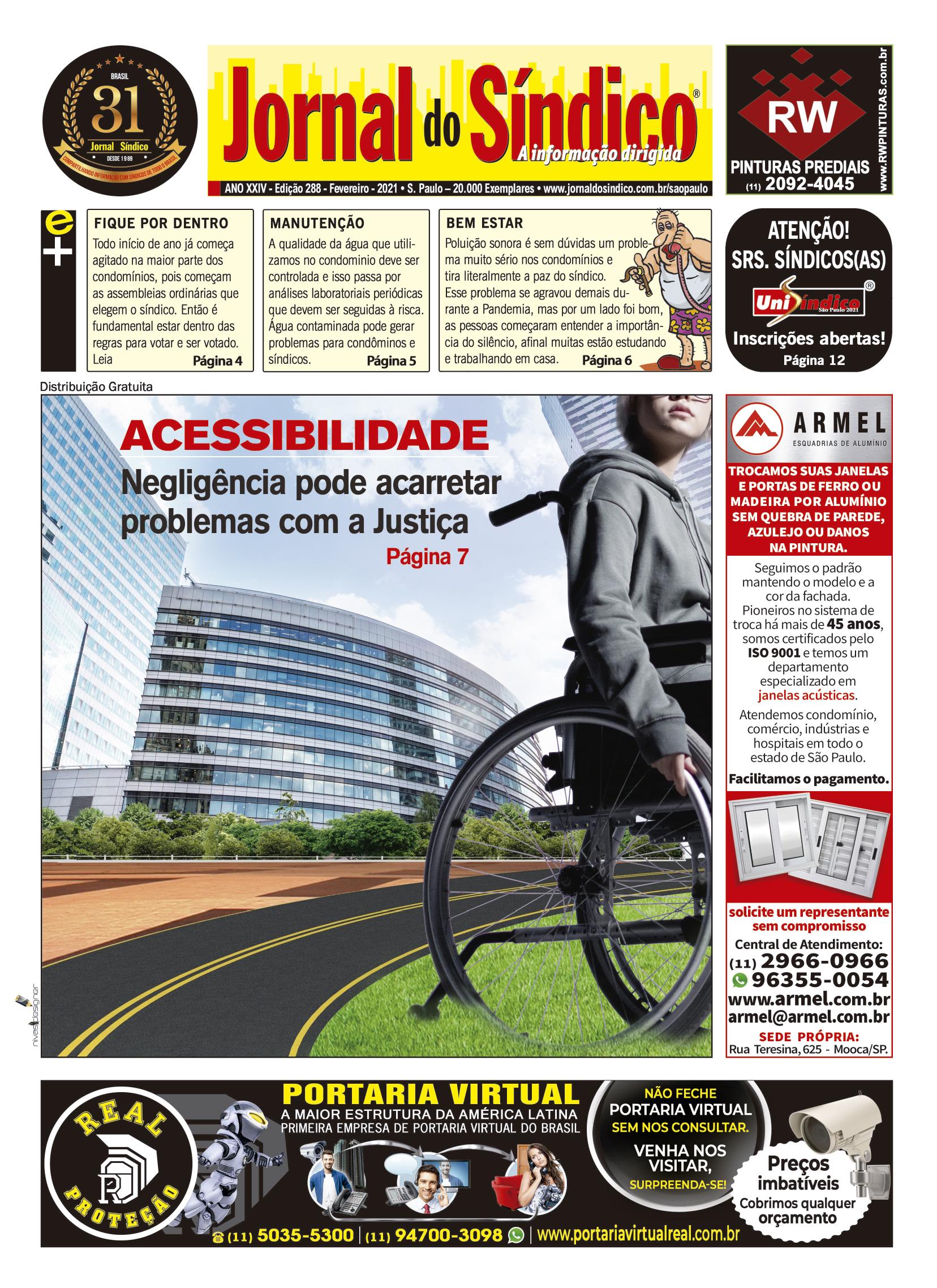 Jornal-Ediç 288 - Fevereiro 2021.indd