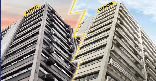 Retrofit garante atualização de fachadas e valorização do condomínio